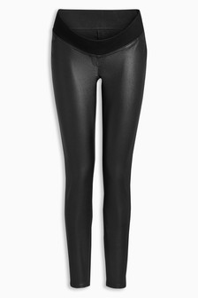 Maternity Coated Leggings