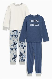 Snooze Pyjamas Two Pack (3-16yrs)