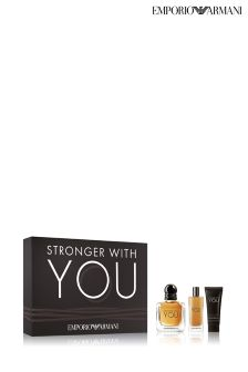 Emporio Armani Stronger With You Gift Set For Him