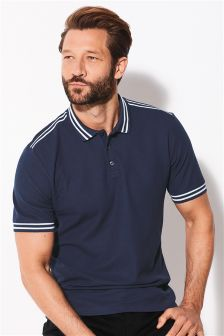 Sports Stripe Poloshirt