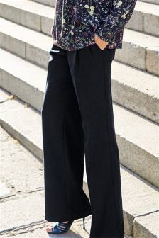 Flannel Slouch Trousers