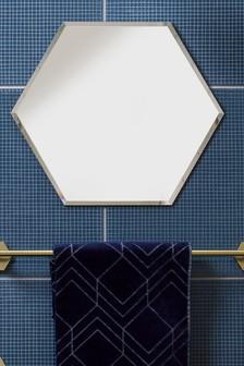 Hexham Hexagon Wall Mirror