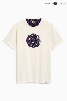 Pretty Green Beaufort Appliqué Logo T-Shirt