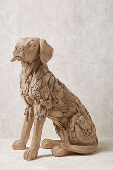 Large Driftwood Effect Dog