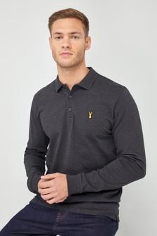 mens long sleeve polo tops