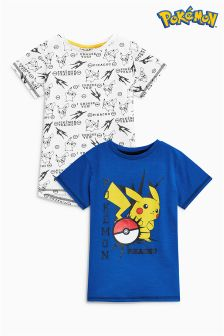 Pokémon T-Shirts Two Pack (3-14yrs)