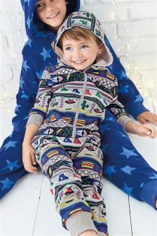 Novelty Pattern All-In-One (3-16yrs)