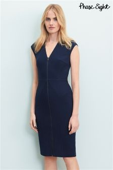 Phase Eight Navy Bonnie Dress