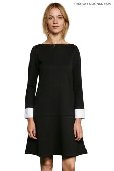 French Connection Long Sleeved Tencel® Shirt Dress