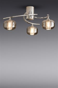 Jenson 3 Light Semi Flush
