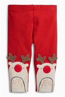 Reindeer Leggings (0mths-2yrs)