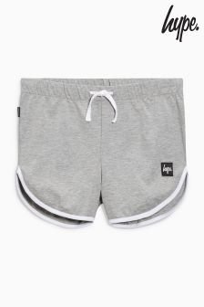 Hype Grey Running Short