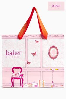 Baker By Ted Baker Pink Girls Gift Bag