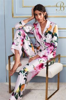 B By Ted Baker Citrus Floral Print Pink Pyjama Bottom