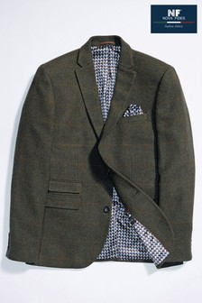 Check Tailored Fit Jacket