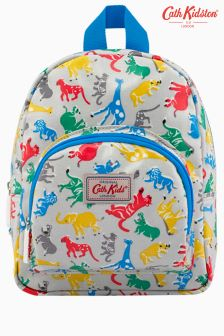 Cath Kidston Grey Safari Mini Backpack