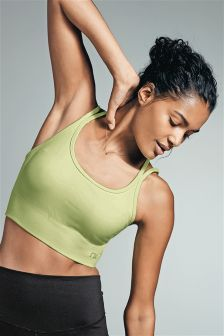 Medium Impact Non Wired Non Padded Sports Crop