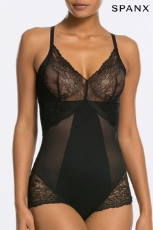 Spanx® Black Lace Shaping Bodysuit