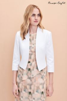 Phase Eight White Valda Jacket