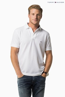 Tommy Hilfiger White Performance Polo Top