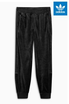 adidas Originals Black Velour Jogger