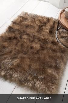 Luxury Faux Sheepskin Rug
