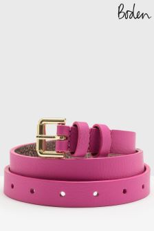 Boden Party Pink Skinny Waist Belt