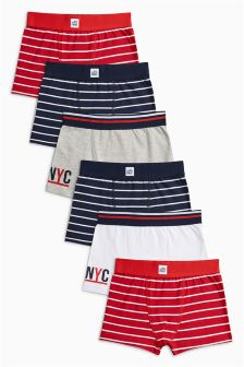 Stripe Briefs Seven Pack (2-16yrs)