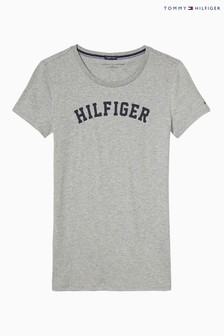 Tommy Hilfiger Grey Print T-Shirt