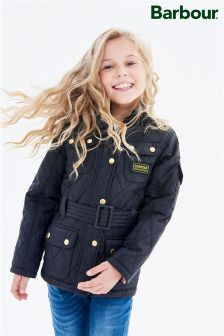 Barbour® Black International Quilted Jacket