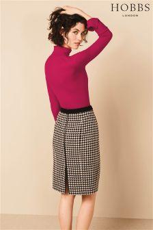 Hobbs Black Sara Skirt