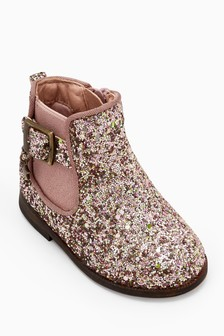 Glitter Chelsea Boots (Younger Girls)