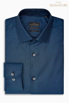 Signature Egyptian Cotton Slim Fit Shirt