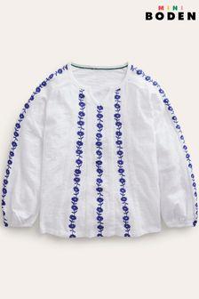 Superdry White Shirt Shop Tri T-Shirt
