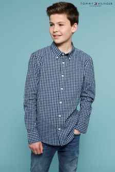 Tommy Hilfiger Blue Ame Gingham Shirt