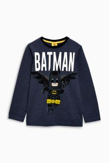 Lego™ Batman Long Sleeve T-Shirt (4-12yrs)