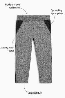 Sports Crop Leggings (3-16yrs)