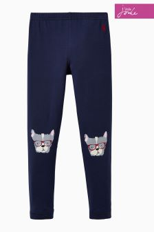 Joules Navy Dog Character Legging