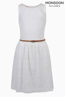 Monsoon Ivory Geneva Dress