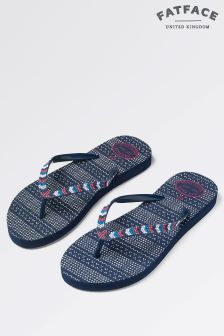 Fat Face South Bead Flip Flop