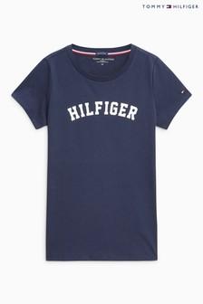 Tommy Hilfiger Navy Print T-Shirt