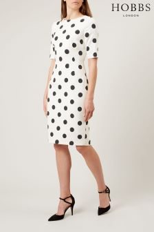 Hobbs White Astraea Dress