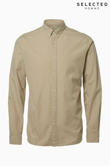 Selected Homme Taupe Shirt