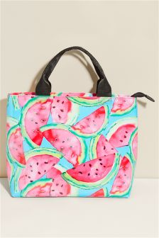 Watermelon Print Lunch Bag