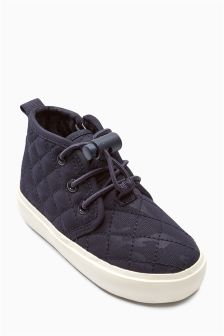 Quilted Chukka Boots (Younger Boys)