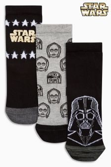 Star Wars™ Three Pack Socks (Older Boys)