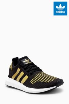 adidas Originals Black/Gold Swift
