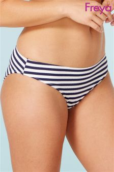 Freya Navy Stripe Drift Away Bikini Brief