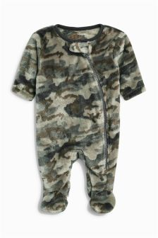 Fleece Sleepsuit (0mths-3yrs)