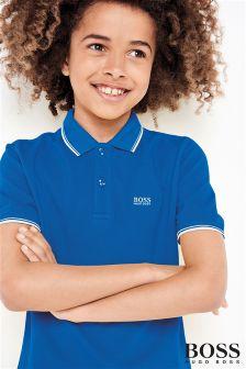 Hugo Boss Blue Classic Poloshirt
